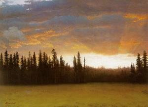 Albert Bierstadt - California Sunset (2)