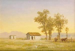 Homestead in the Rocky Mountains 1863