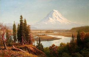 Albert Bierstadt - Mount Rainier