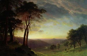 Albert Bierstadt - The Sacramento River Valley