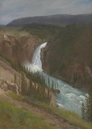 Albert Bierstadt - Upper Falls of the Yellowstone