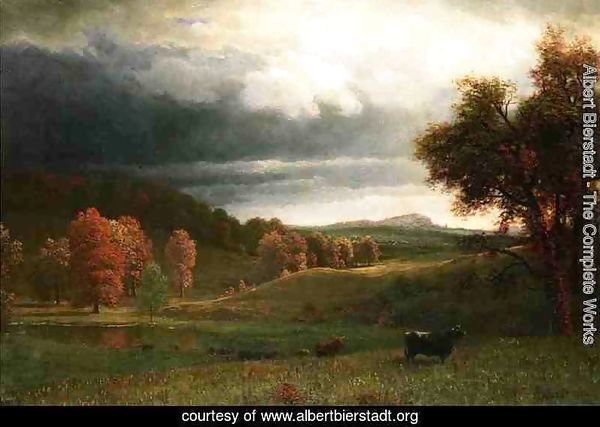 Autumn Landscape: The Catskills