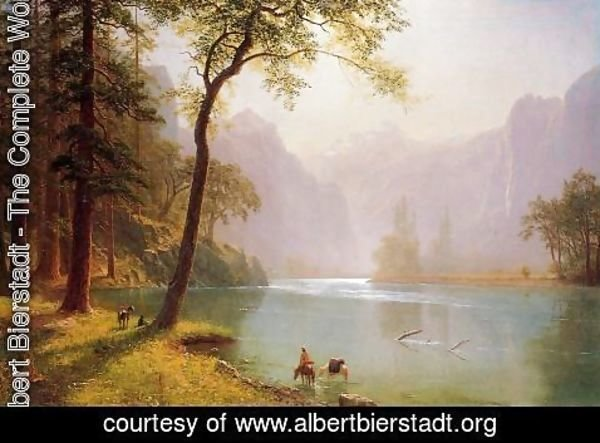 Albert Bierstadt - Kern's River Valley, California