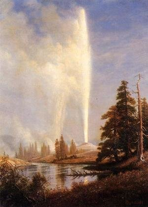 Albert Bierstadt - Old Faithful I