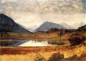 Albert Bierstadt - Wind River Country II