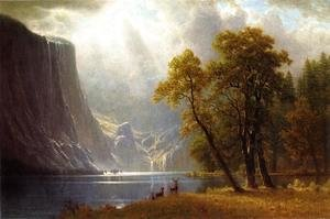 Albert Bierstadt - Yosemite Valley II