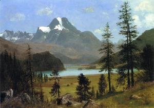 Albert Bierstadt - Long's Peak, Estes Park, Colorado