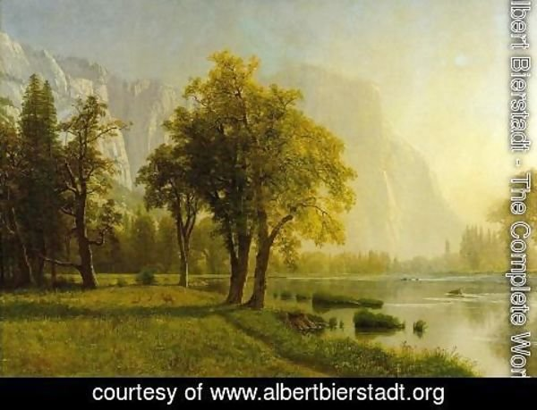 Albert Bierstadt - El Capitan, Yosemite Valley