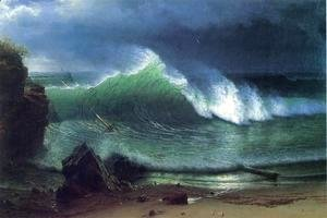 Albert Bierstadt - Emerald Sea