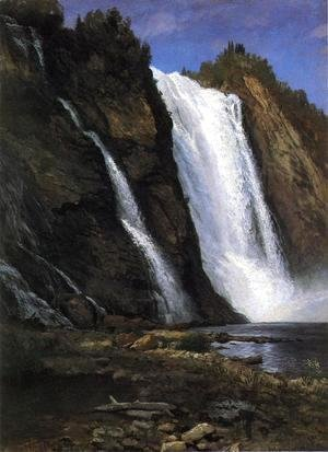 Albert Bierstadt - Waterfall