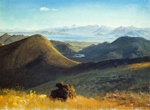 Albert Bierstadt - Mono-Lake, Sierra Nevada, California, 1872