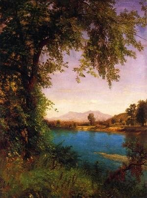 Albert Bierstadt - South and North Moat Mountains