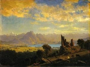 Albert Bierstadt - Scene in the Tyrol