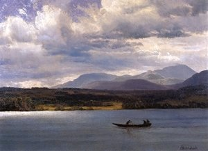 Albert Bierstadt - Overlook Mountain from Olana
