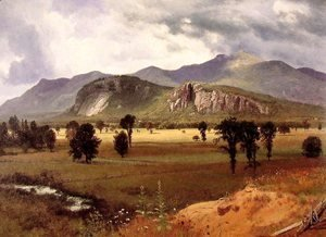 Albert Bierstadt - Moat Mountain Intervale, New Hampshire