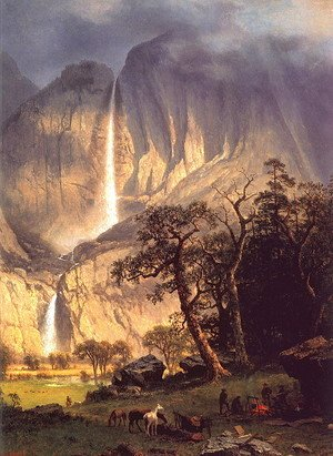 Albert Bierstadt - Cho-looke: The Yosemite Fall