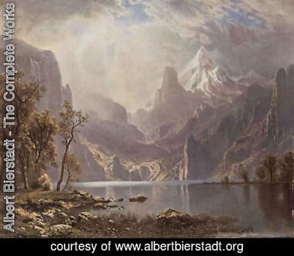 Albert Bierstadt - Lake Tahoe 2