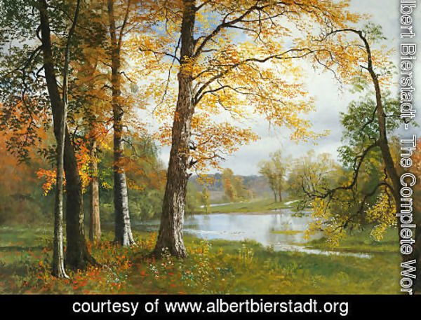 Albert Bierstadt - A Quiet Lake