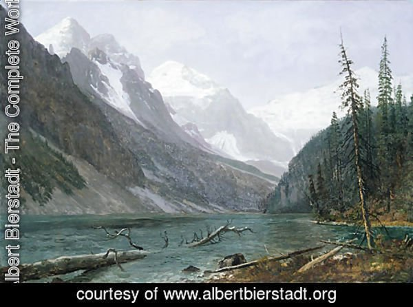 Canadian Rockies (Lake Louise) 1889