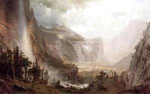 Albert Bierstadt - The Domes of Yosemite 1867