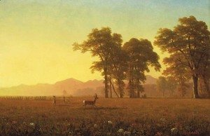 Albert Bierstadt - Autumn