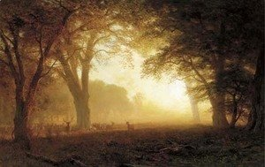Albert Bierstadt - Golden Light of California