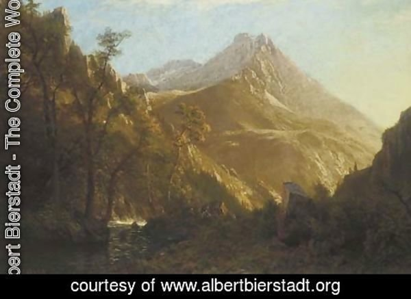 Albert Bierstadt - Wasatch Mountains 2