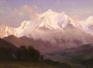 Albert Bierstadt - Grand Tetons