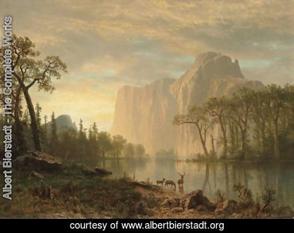a biography of albert bierstadt and his work among the sierra nevada mountains Albert bierstadt gallery of paintings: over i have admired the work of albert bierstadt for years among the sierra nevada mountains, california after a norther, bahamas a rustic mill.