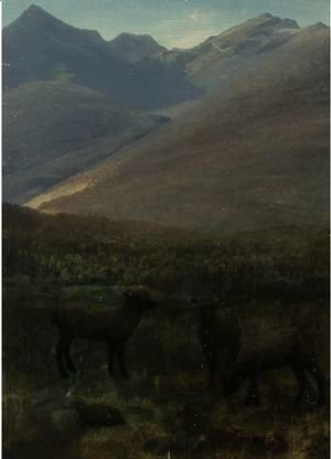 Albert Bierstadt - White Mountains Near Glen House