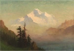 Albert Bierstadt - Mountain Lake 2