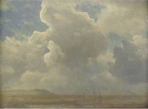 Albert Bierstadt - Cloud Study