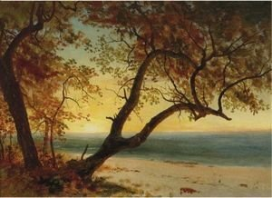Albert Bierstadt - Landscape In The Bahamas