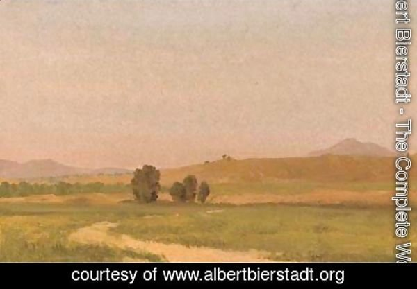 Albert Bierstadt - Nebraska, On the Plains 2