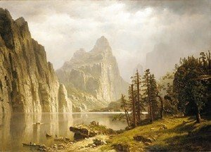 Albert Bierstadt - Merced River  Yosemite Valley