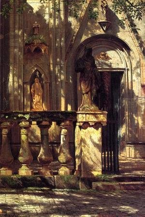 Albert Bierstadt - Sunlight And Shadow2