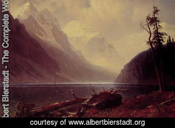 Albert Bierstadt - Lake Louise