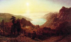 Albert Bierstadt - Donner Lake From The Summit