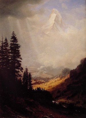 Albert Bierstadt - The Matterhorn