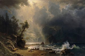 Albert Bierstadt - Puget Sound On The Pacific Coast