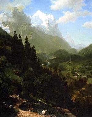 Albert Bierstadt - The Wetterhorn