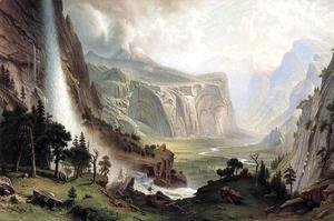 Albert Bierstadt - The Domes Of The Yosemite