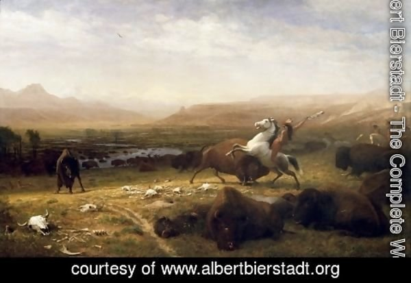 Albert Bierstadt - The Last Of The Buffalo