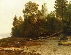 Albert Bierstadt - The Fallen Tree