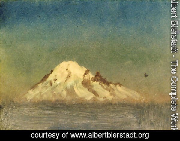 Albert Bierstadt - Snow Capped Moutain