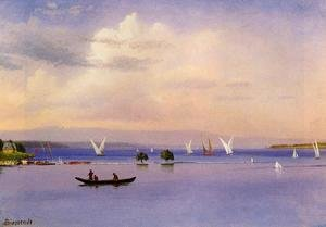 Albert Bierstadt - On The Lake