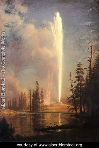 Albert Bierstadt - Old Faithful
