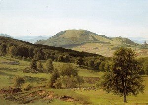 Albert Bierstadt - Landscape Hill And Dale
