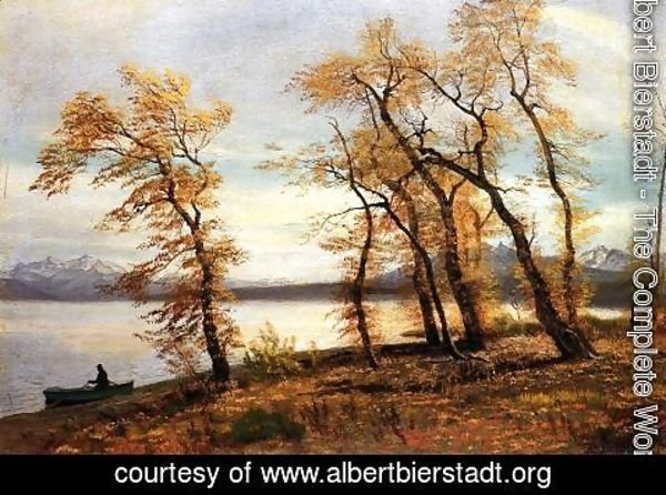 Albert Bierstadt - Lake Mary  California