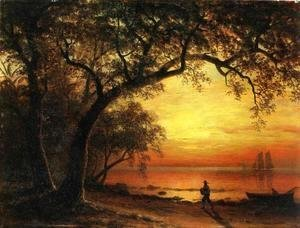 Albert Bierstadt - Island Of New Providence